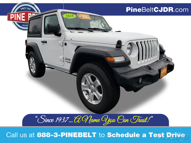 Certified Pre-Owned 2018 Jeep Wrangler Sport