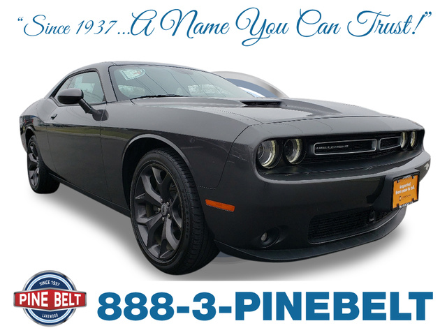CERTIFIED PRE-OWNED 2018 DODGE CHALLENGER SXT RWD COUPE