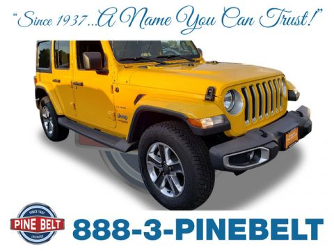 Certified Pre-Owned 2018 Jeep Wrangler Unlimited Unlimited Sahara